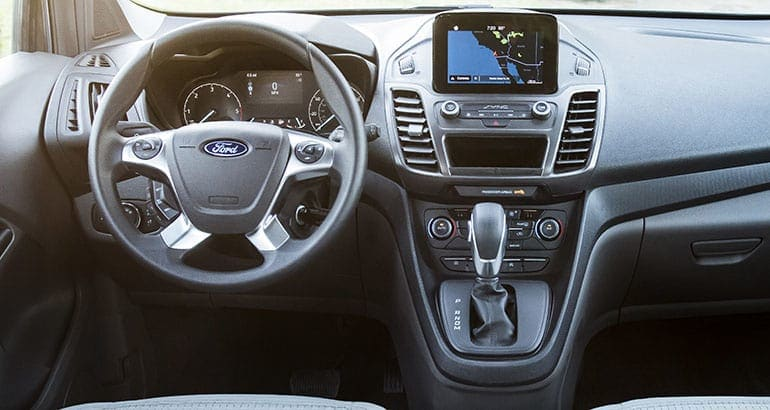 2019 Ford Transit Connect Wagon dash