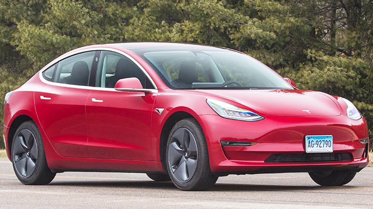 First Drive: Tesla Model 3 - Consumer Reports