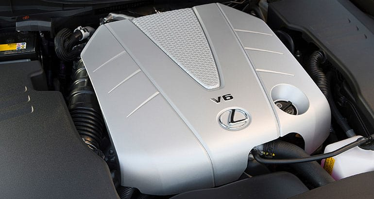 2010 Lexus GS engine.