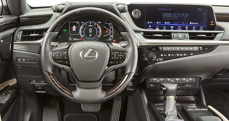 All-New 2019 Lexus ES Gets Bigger and Sportier - Consumer