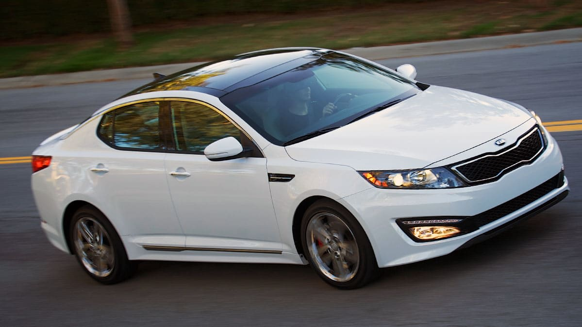 2013 Kia Optima driving