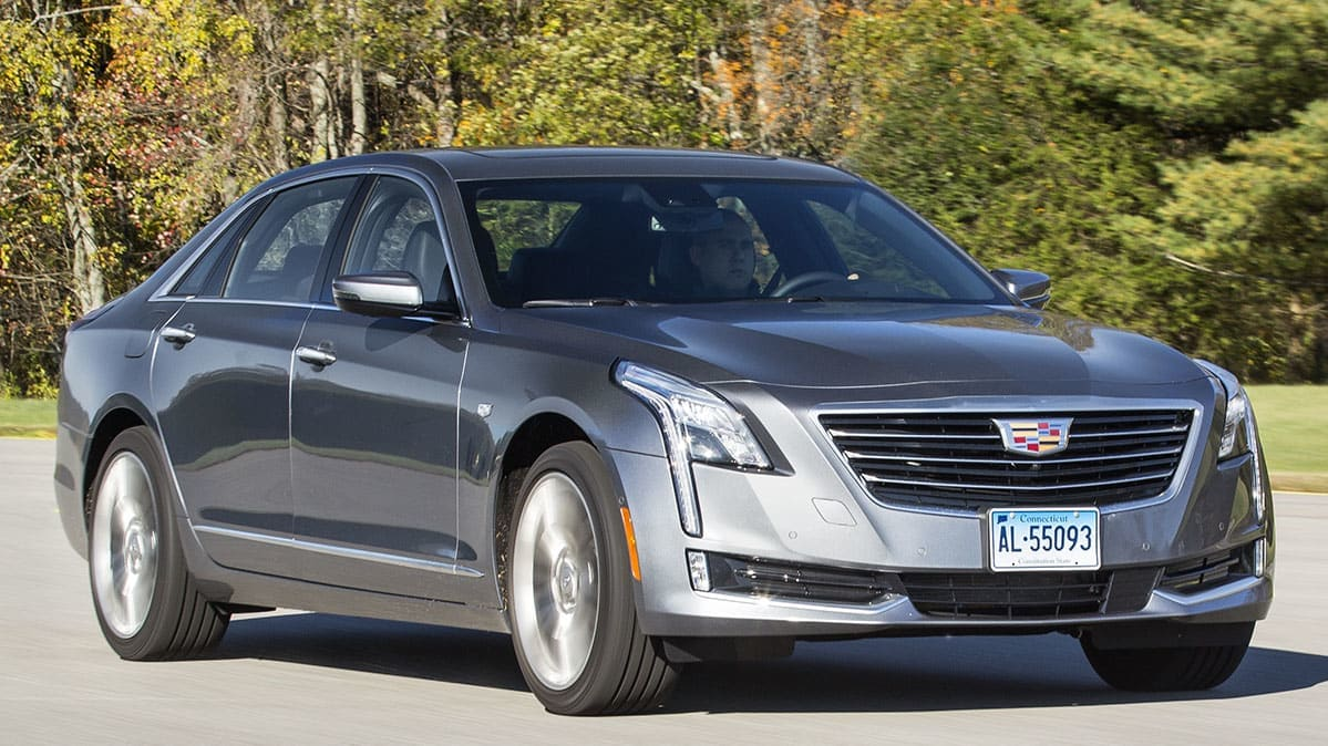2018 Cadillac CT6 with GM Makes Super Cruise Driver-Assist System