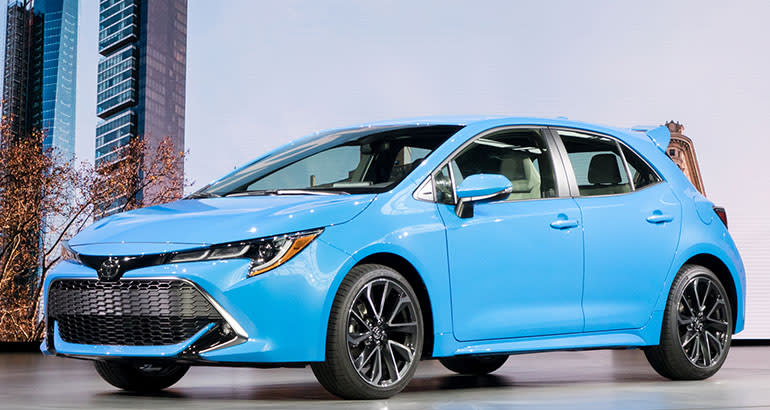2019 Toyota Corolla Hatchback front