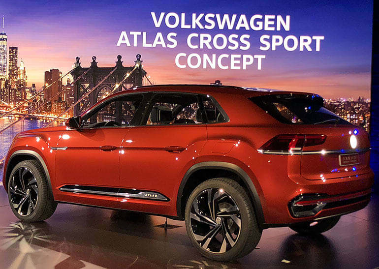 VW Atlas concept at NYIAS