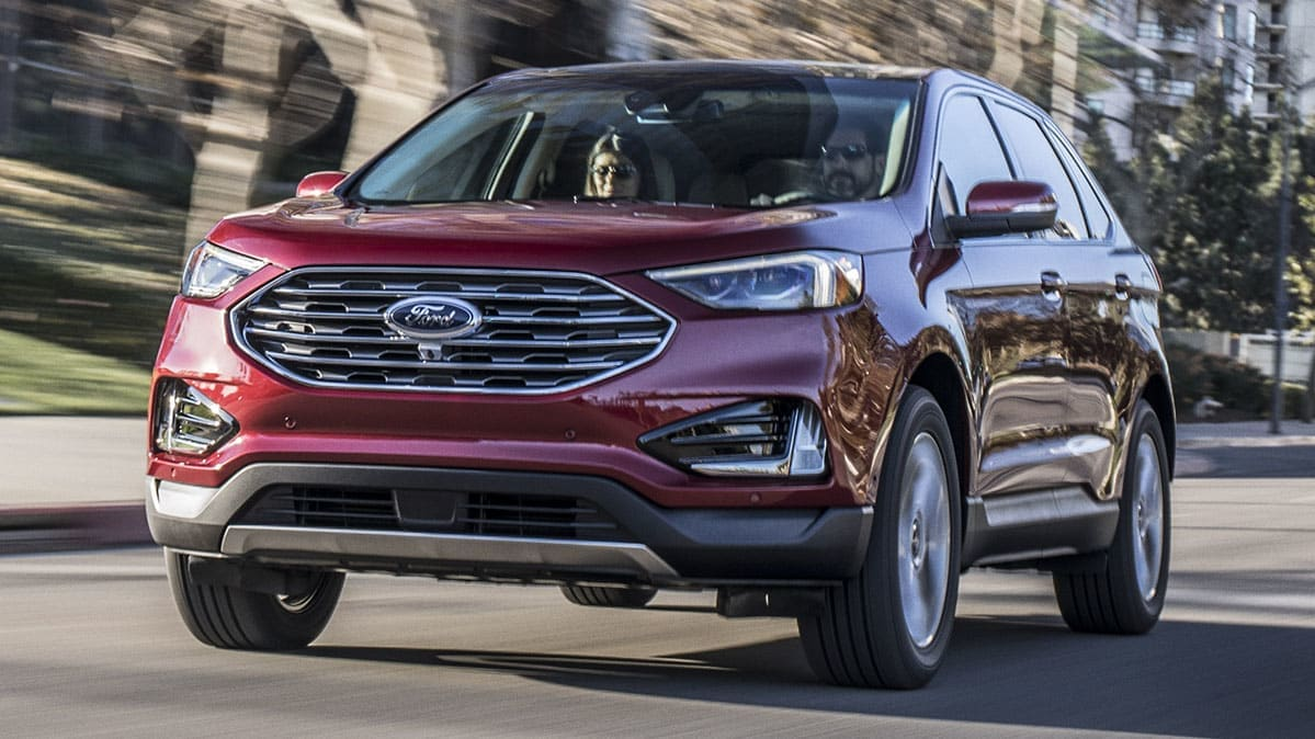 Photo of a 2019 Ford Edge SUV with Ford Co-Pilot 360