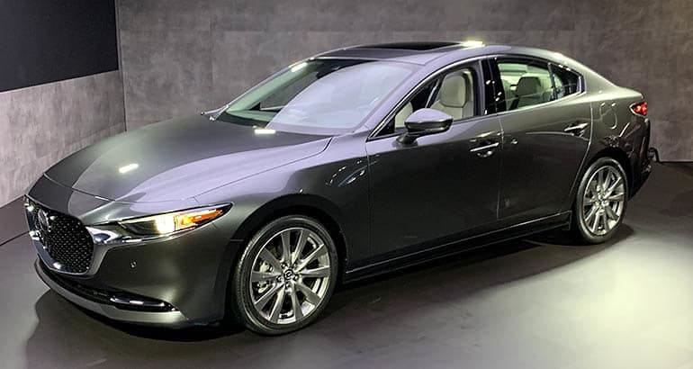 This 2018 Mazda3 sedan is include in the latest Mazda recall.
