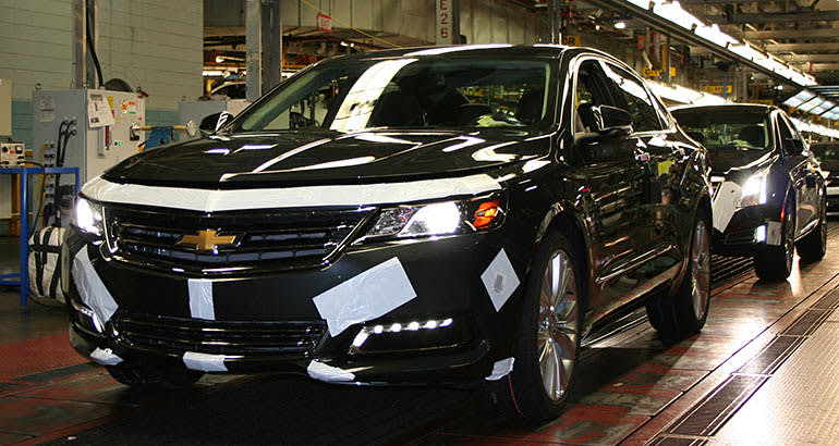 GM restructuring will close factories, affecting the Chevrolet Impala