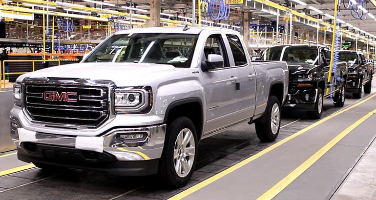 GM restructuring will close factories, affecting the GMC Sierra