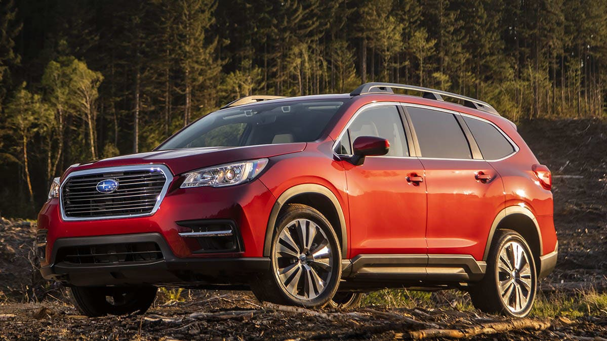 Best Cars for Active Families - Subaru Ascent