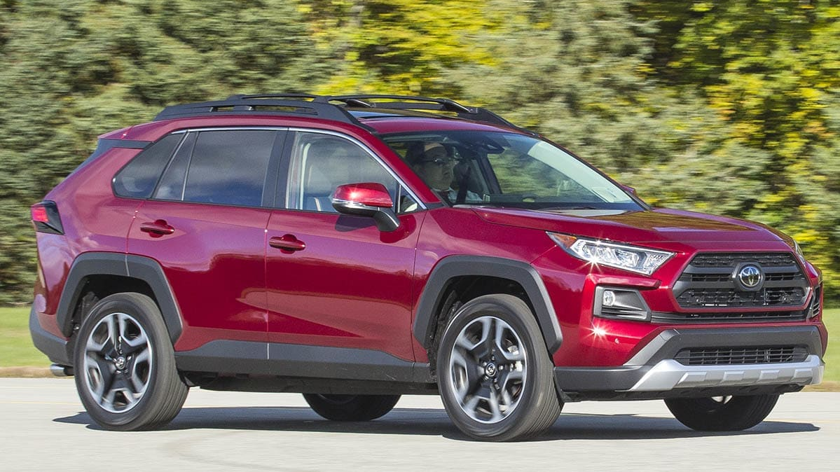 2019 Toyota RAV4 Adventure driving