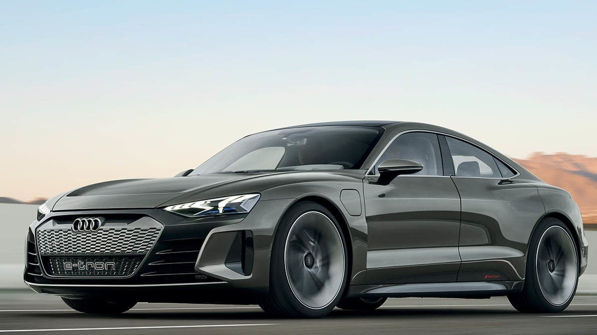 Audi E-Tron GT Concept Electric Sedan Preview - Consumer Reports | audi all cars