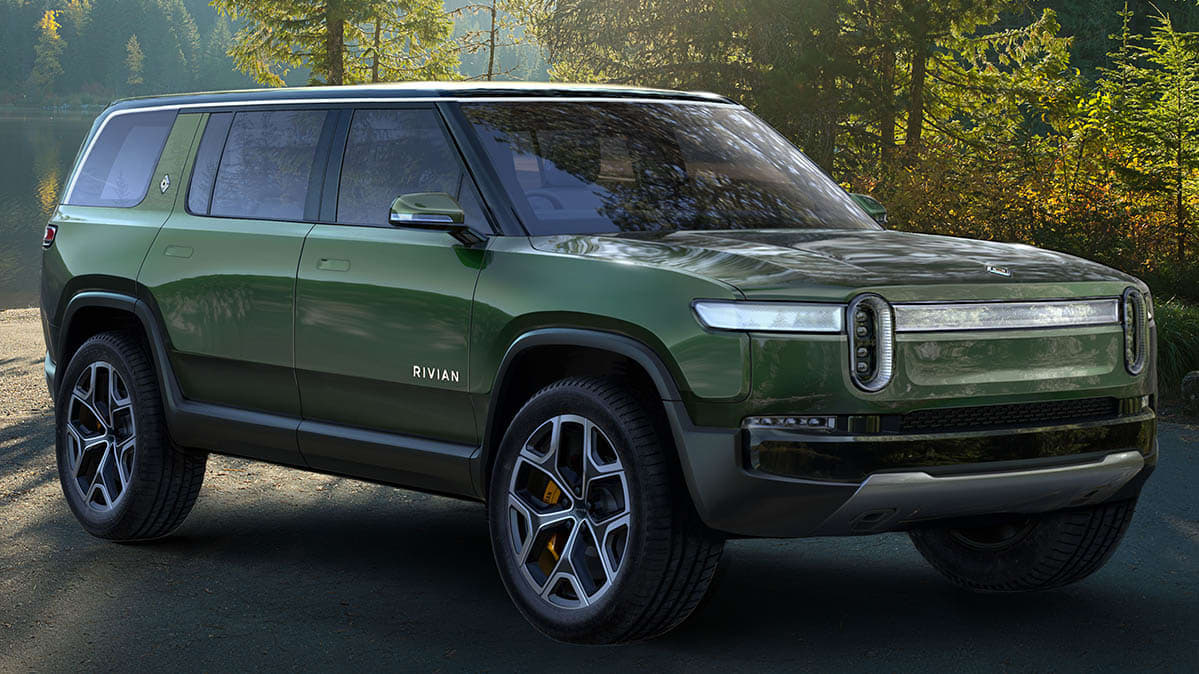 All-Electric Rivian Pickup and SUV Take Charge - Consumer ...