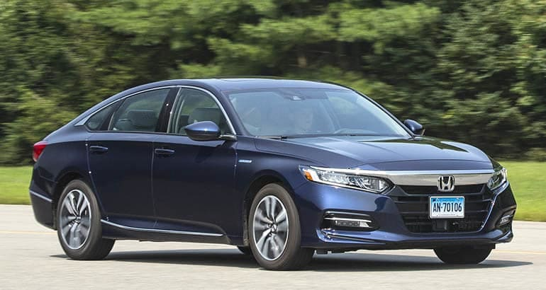 Honda Accord Hybrid - Best Cars for New Families