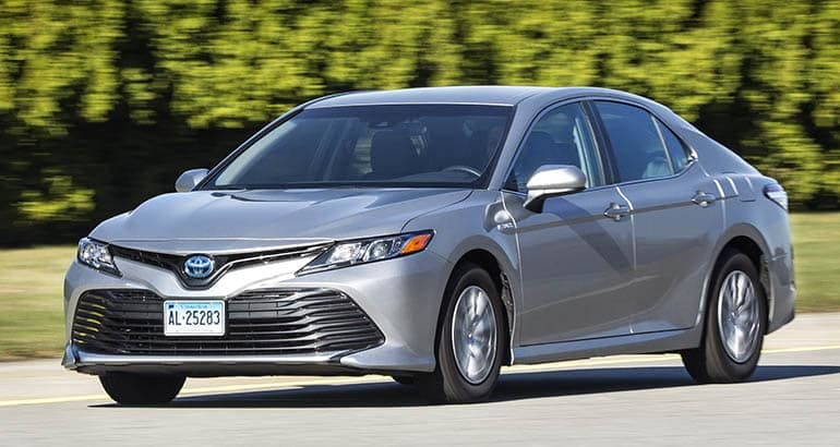 Toyota Camry Hybrid - Best Cars for New Families