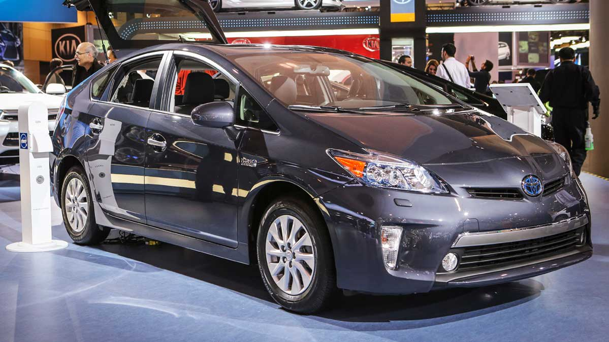 Toyota Prius that's part of the recent Toyota recall.