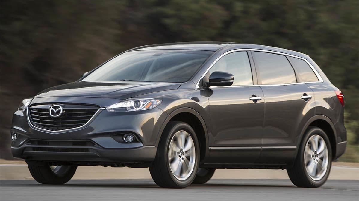 2015 CX-9 SUVs are included in the Mazda Takata airbag recall.