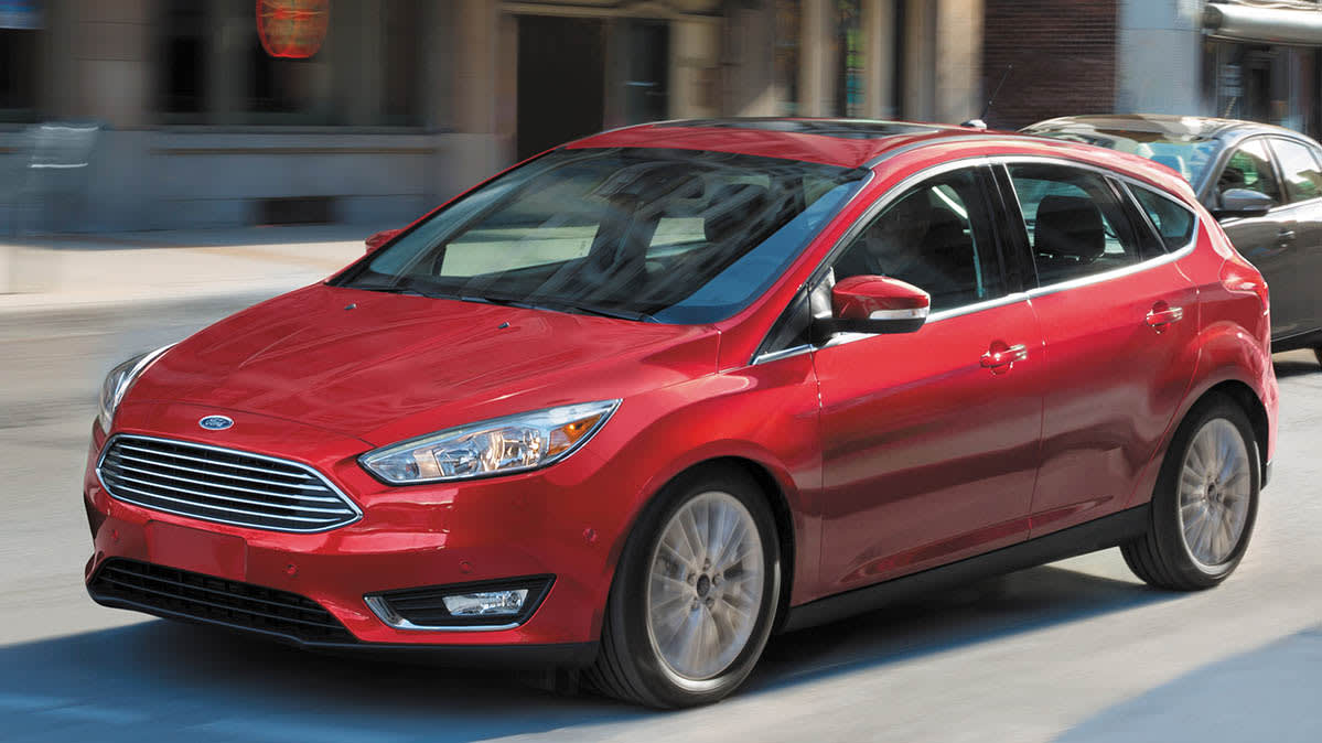 Ford Focus recall: stall risk (Ford Focus hatchback pictured).