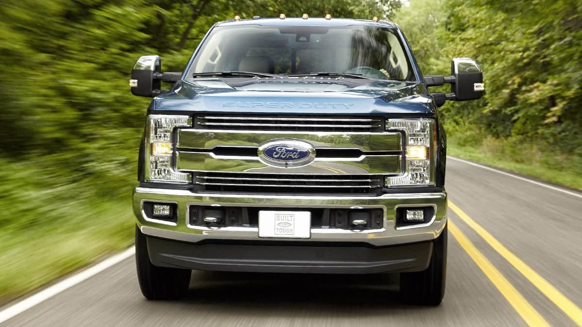 2017 Ford F-250 pickup truck involved in Ford pickup tailgate investigation