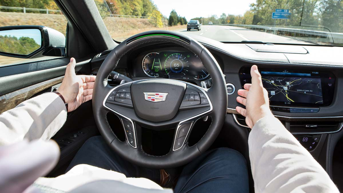 A Cadillac Super Cruise automated-system demonstration.