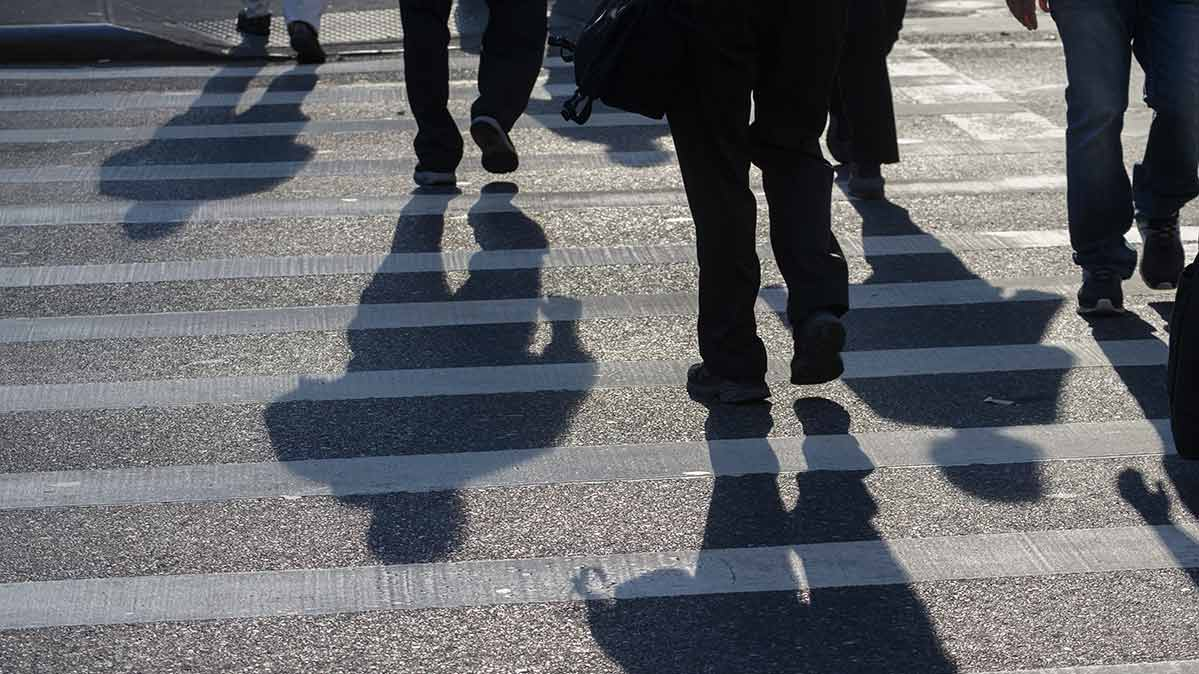 Pedestrian deaths are on the rise.