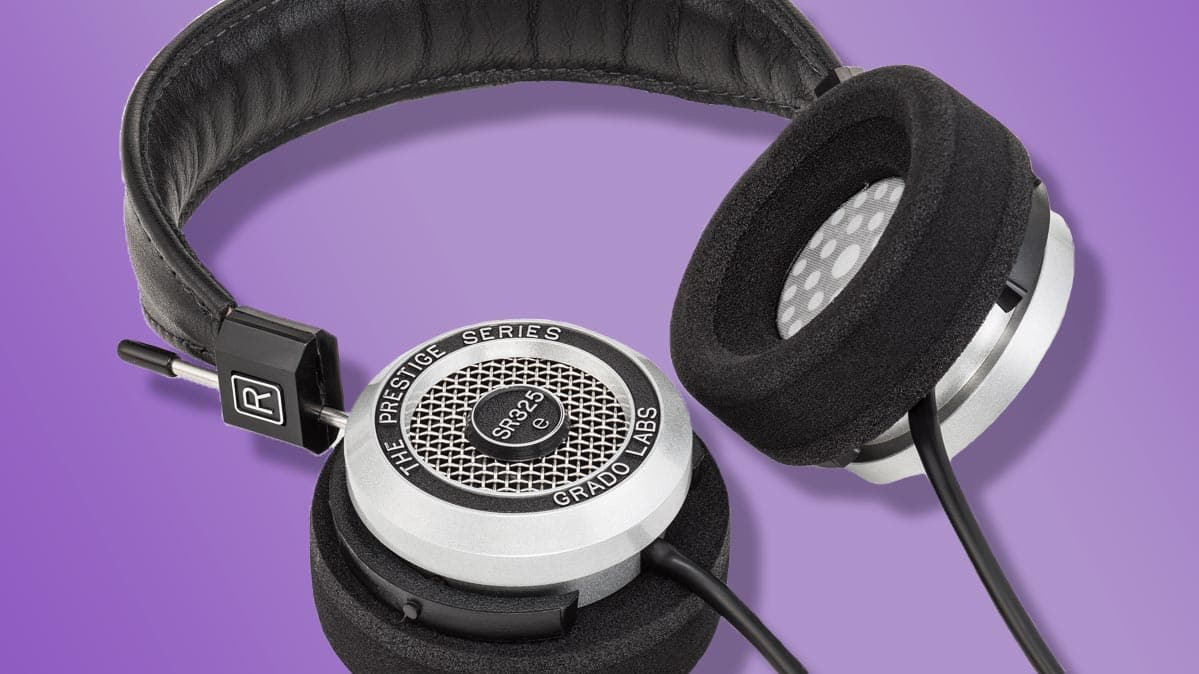 The Grado Prestige SR325e, one of the best headphones of 2020.