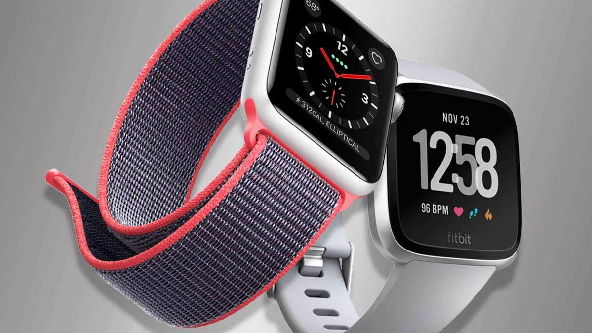 Smartwatch Face Off Fitbit Versa Vs Apple Watch Consumer Reports