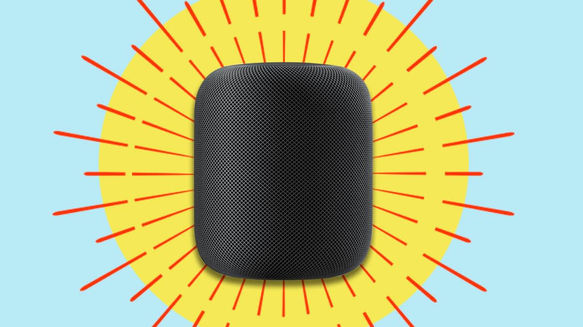 The Apple HomePod can be your Apple HomeKit smart home hub.
