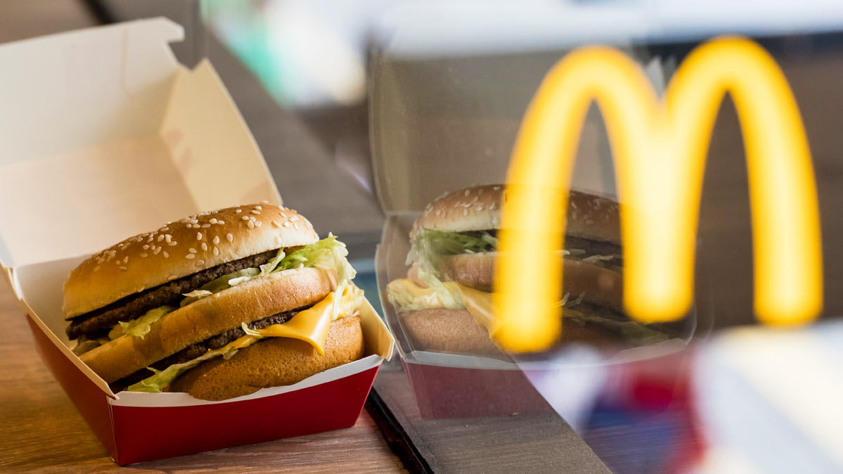 McDonald's has a new policy to reduce antibiotic use in beef