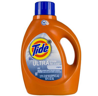 A high-efficiency (HE) laundry detergent.