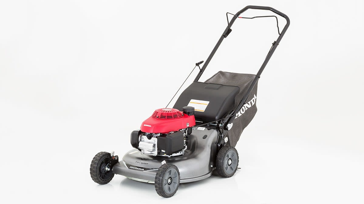 Honda makes one of the best push mowers.