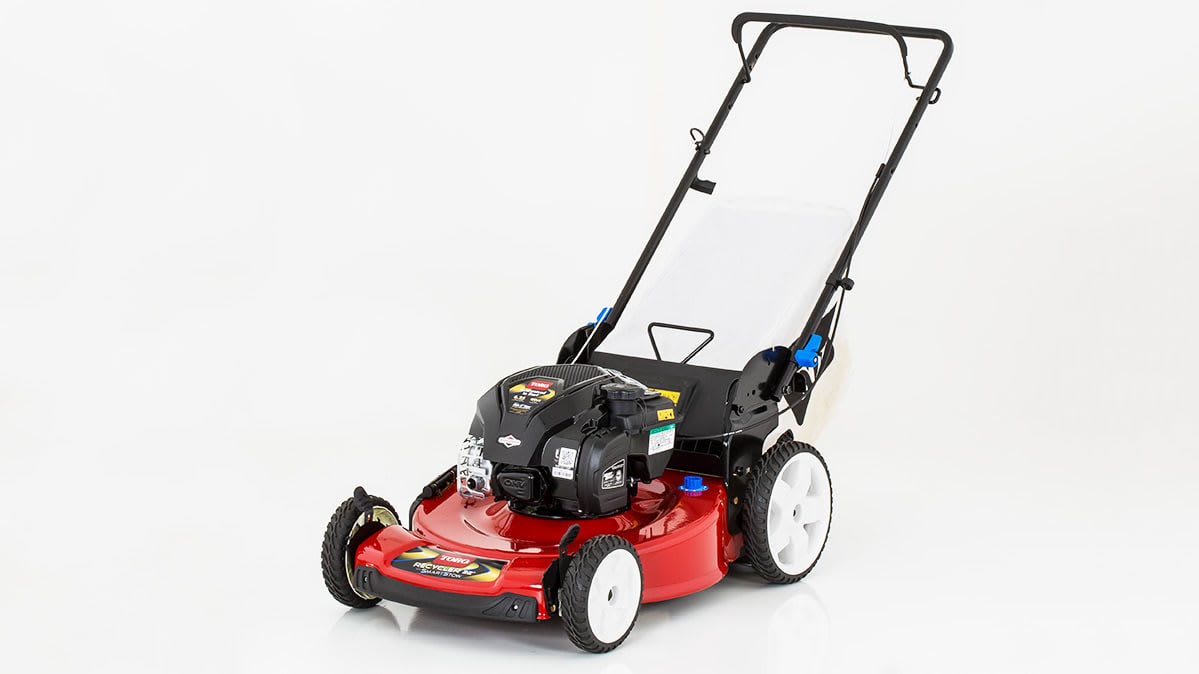 Toro makes one of the best push mowers.