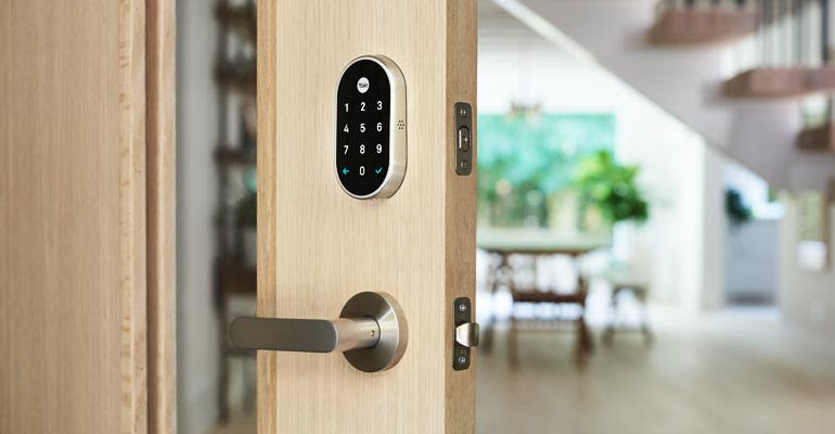The Nest x Yale smart lock, $249.