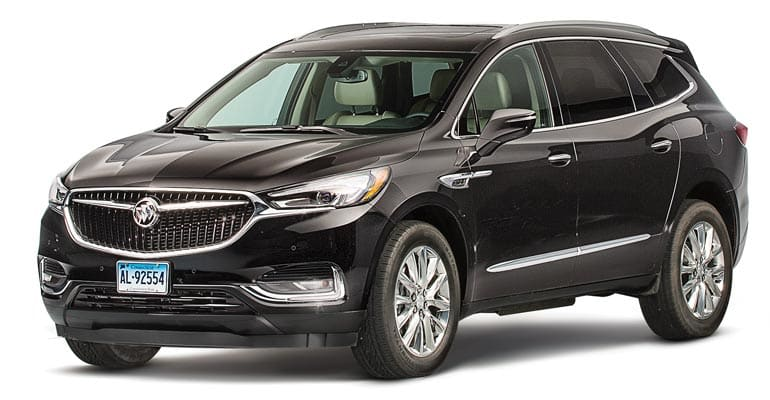 2018 Buick Enclave side
