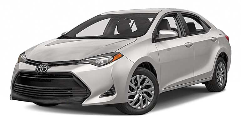 Best car deal on Toyota Corolla