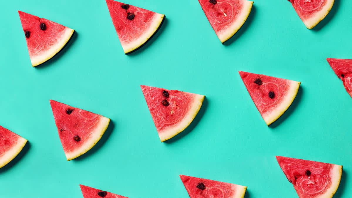 Watermelon triangles.