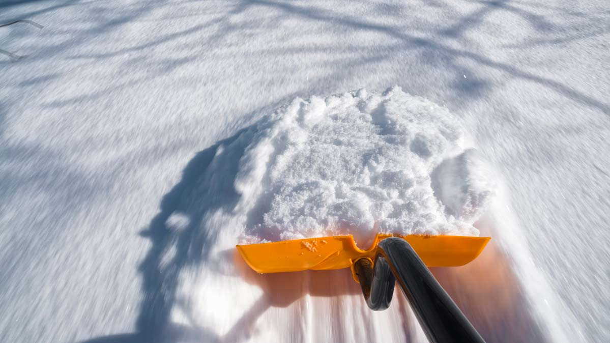 Image of one of the best snow shovels