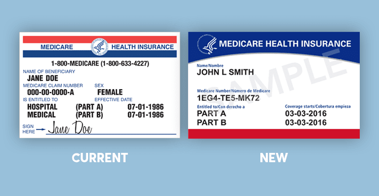 New Medicare Cards 2020.What You Need To Know About Your New Medicare Card