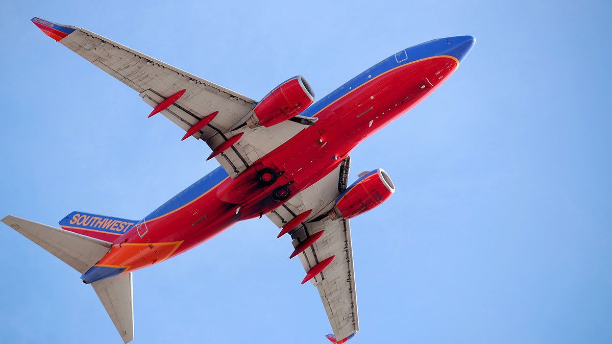 Image of a Southwest Airlines plane, for a story on the best and worst airlines