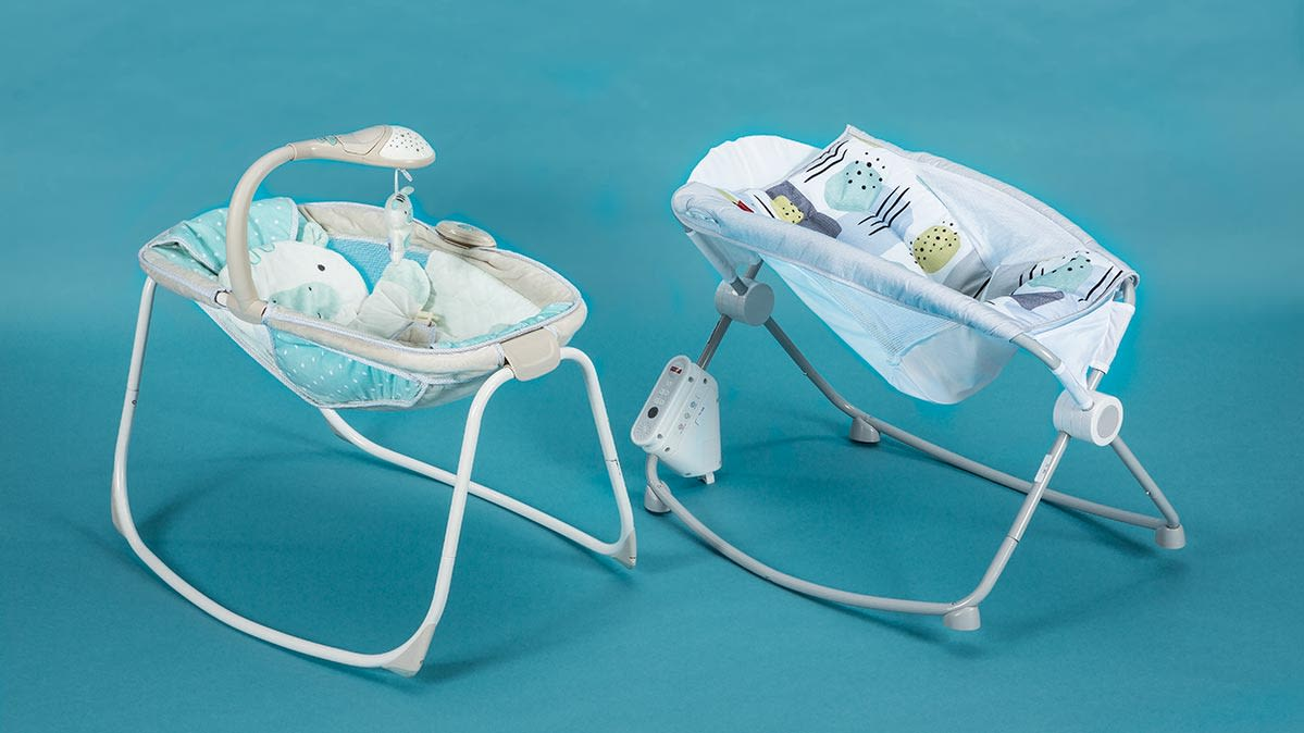 Two infant inclined sleepers that have been recalled.