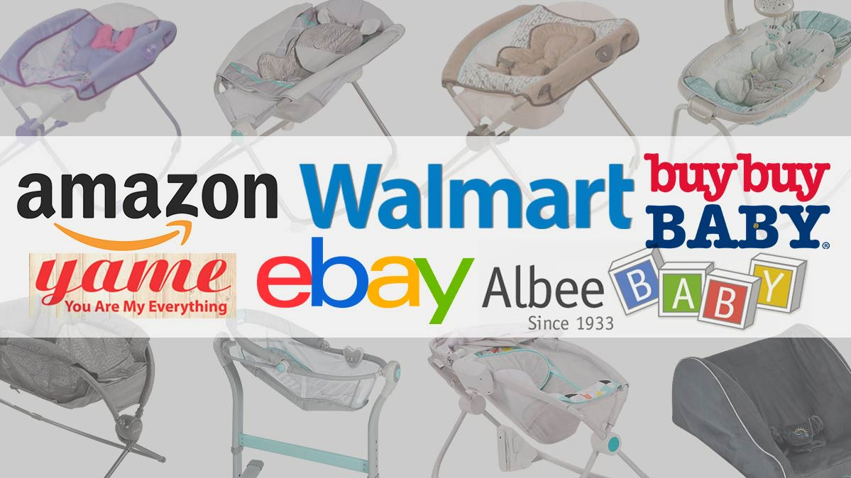 The names of retailers that have agreed to stop selling infant inclined sleepers.