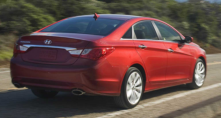 NHTSA Investigation into Hyundai Kia Fires includes the 2013 Hyundai Sonata.