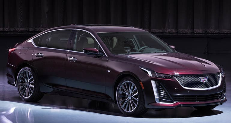 Stylish 2020 Cadillac CT5 and CT5-V Unveiled - Consumer Reports