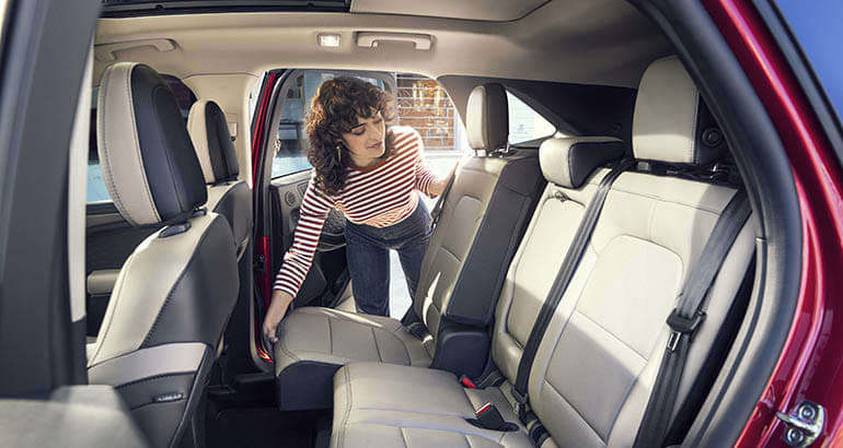 2020 Ford Escape backseat