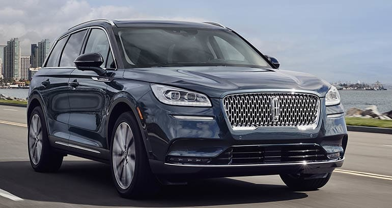 2020 Lincoln Corsair front