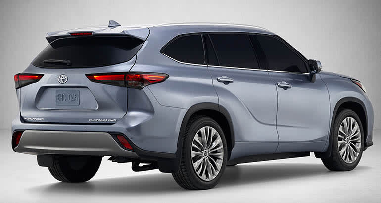 2020 Toyota Highlander rear