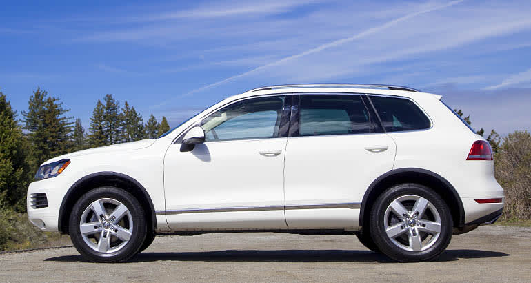 2014 Volkswagen Touareg found to use special software to exaggerate fuel-economy claims