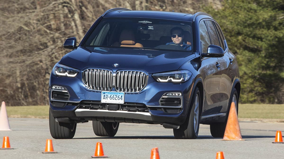 The BMW X5 is one of the top-scoring cars in Consumer Reports'
