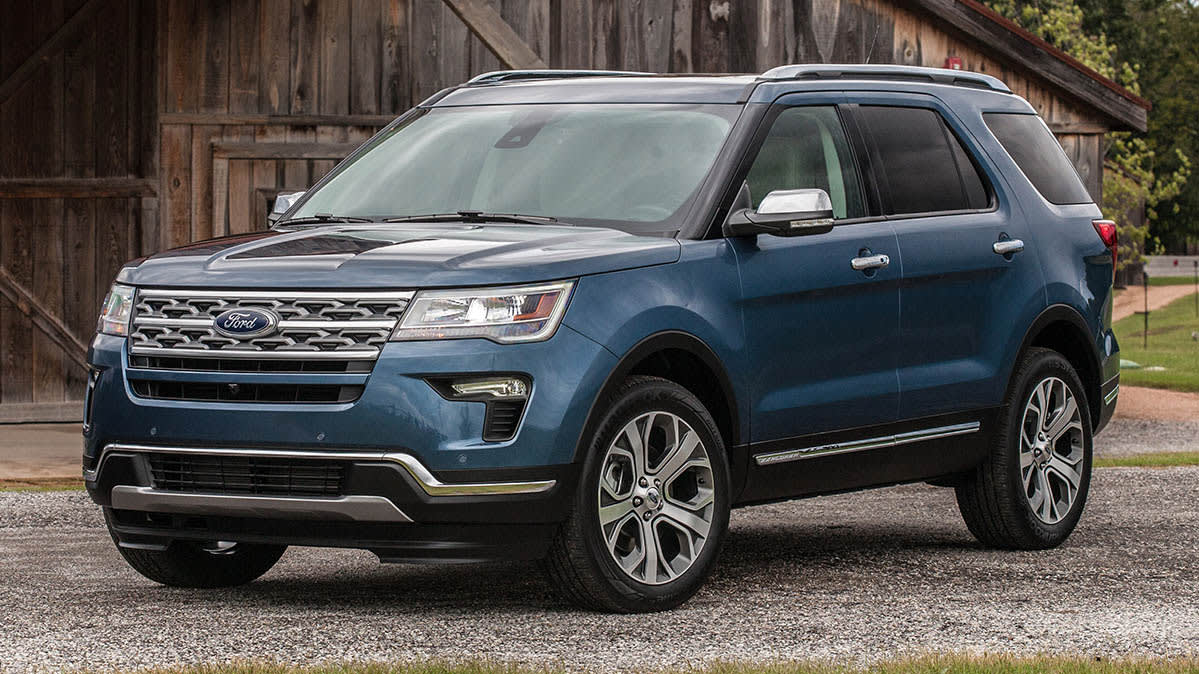Ford Recalls Pickup Trucks, SUVs for Seat Problem - Consumer