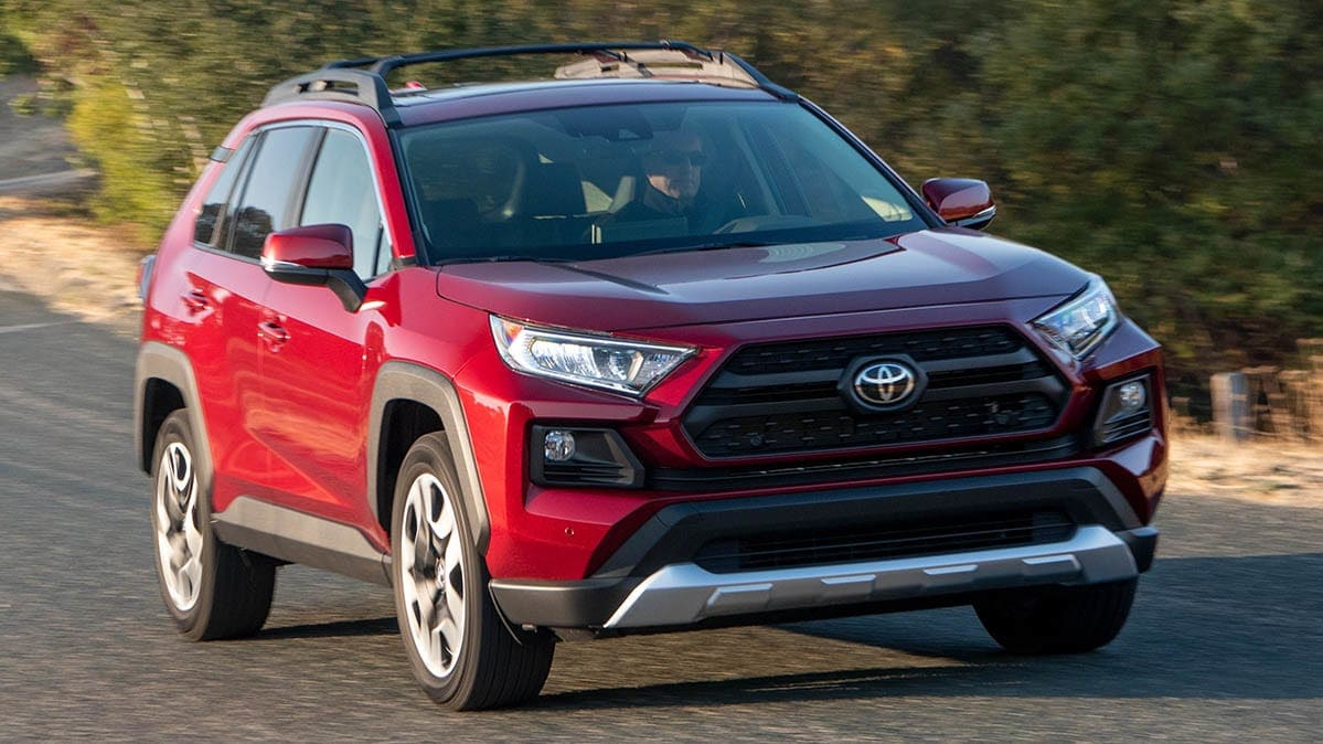 New Toyota RAV4 Recalled for Faulty Rearview Camera