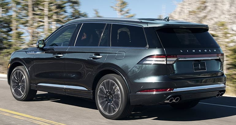 Ford Recall involves the 2020 Lincoln Aviator